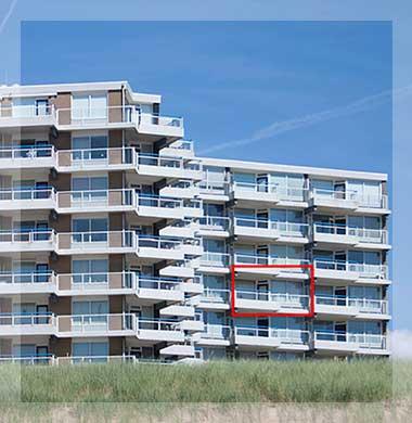 Zeezicht Verhuur Egmond Appartementencomplex Sterflat